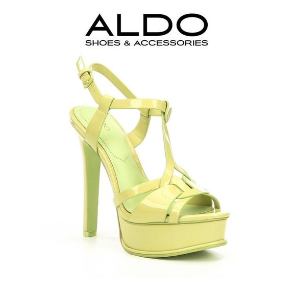 dd4b9748c18b ALDO- Chelly Platform Sandals- Pastel Green